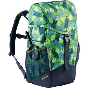 VAUDE Skovi 10 Backpack Kids, groen/blauw